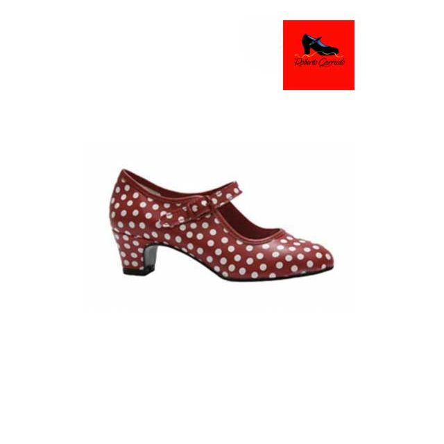 Zapato flamenco para niños ROBERTO GARRUDO 01127
