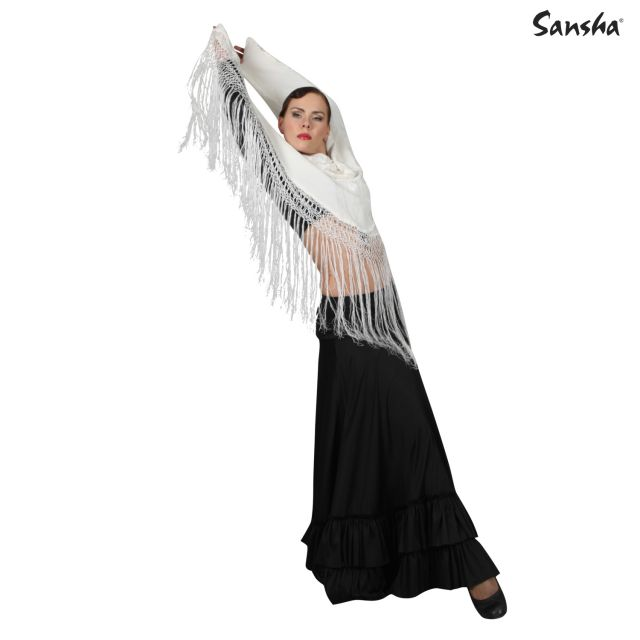 Falda de flamenco con volantes L0903P FRIDA