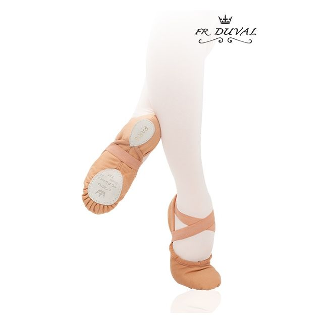 Medias puntas de ballet de tela 21C PARIS