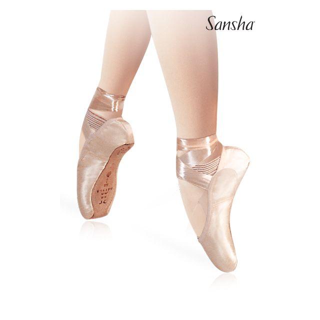 Puntas de ballet de caja cuadrada 507S CADENZA