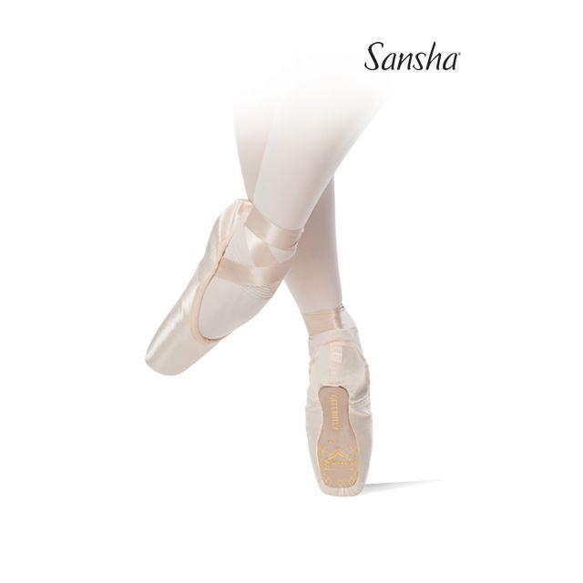 Puntas de ballet con suela ligera 600S CELEBRITA
