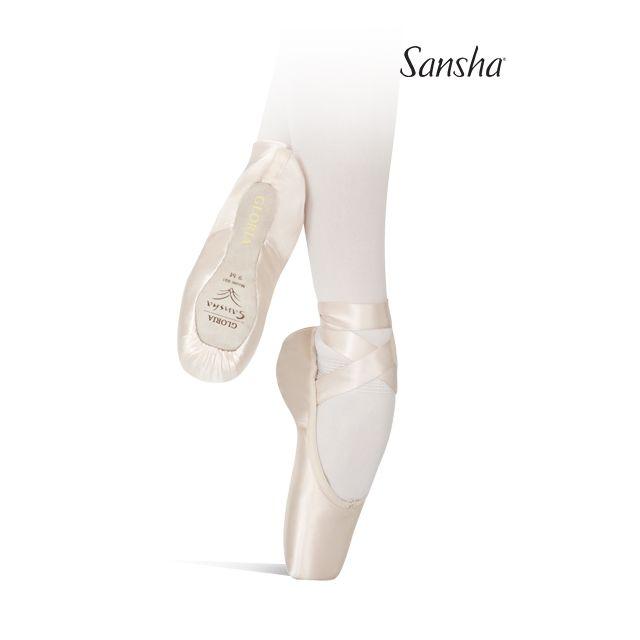 Puntas de ballet suela 3/4 601S GLORIA