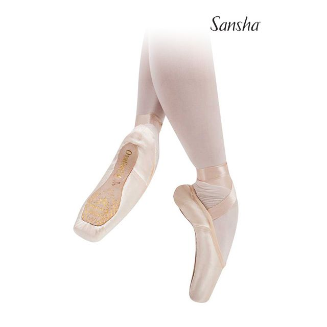 Puntas de ballet suela 3/4 603HSLV OVATION