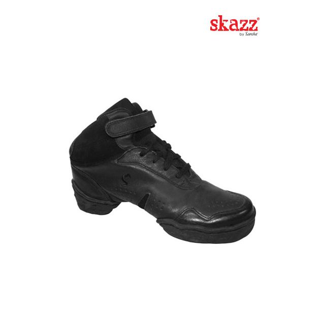 Sneakers altas de danza de piel B952L BOOMERANG