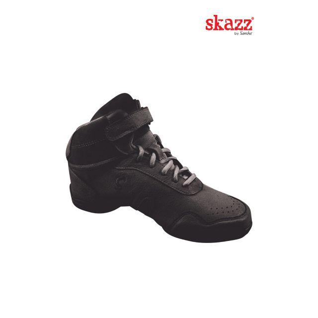 Sneakers altas de danza de piel B62Lpi BOOMELIGHT