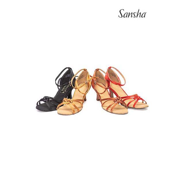 Zapatos de baile latino con pajarita BR25030S LUCINDA