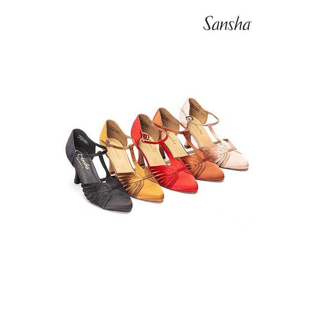 Zapatos de baile latino BR30013S LUISA