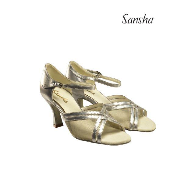 Zapatos de baile latino BR31023PU DINA