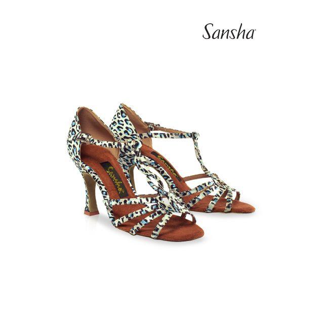 Zapatos de baile latino BR31031S MANUELA