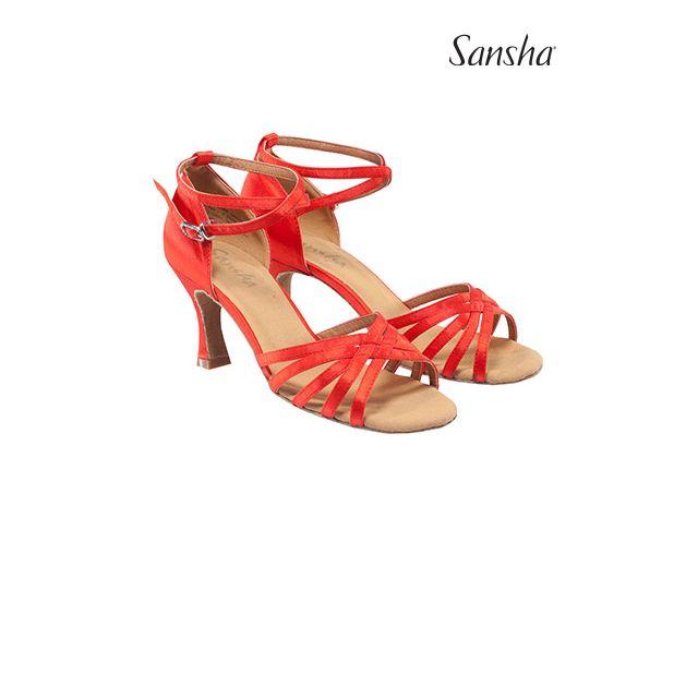 Zapatos de baile latino BR31034S REGINA