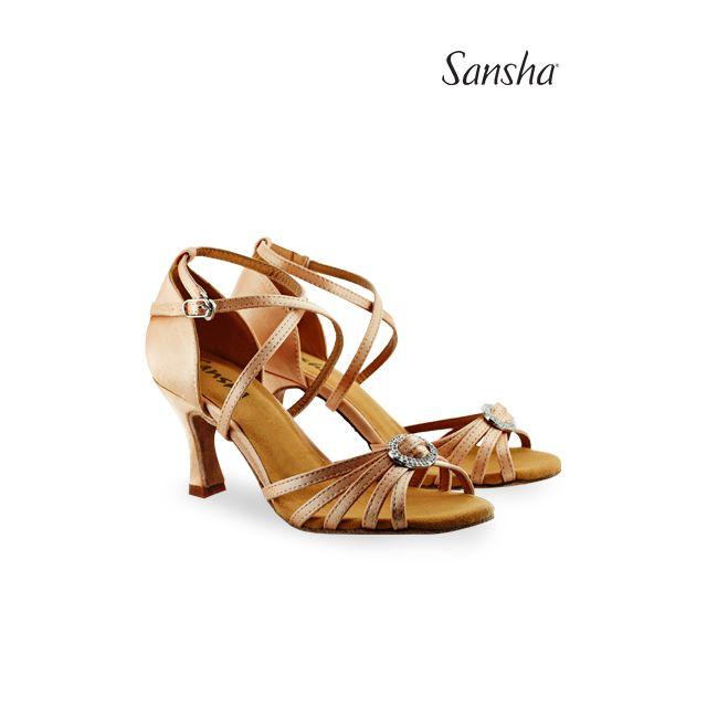 Zapatos de baile latino BR31038S BARBARA