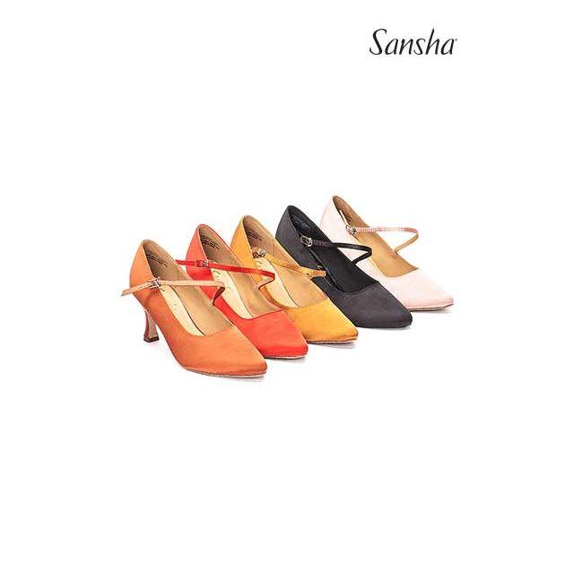 Zapatos de baile latino BR30068S MIREYA