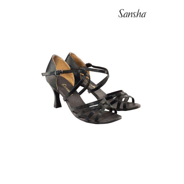 Zapatos de baile latino BR31007S ROSA