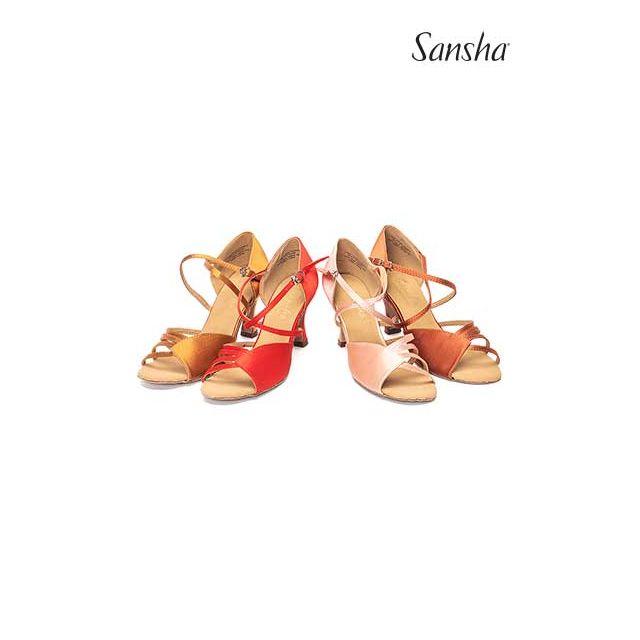 Zapatos de baile latino BR31009S NINA