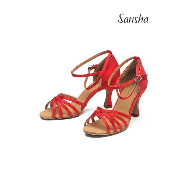 Zapatos de baile latino BR31016S ALAIA