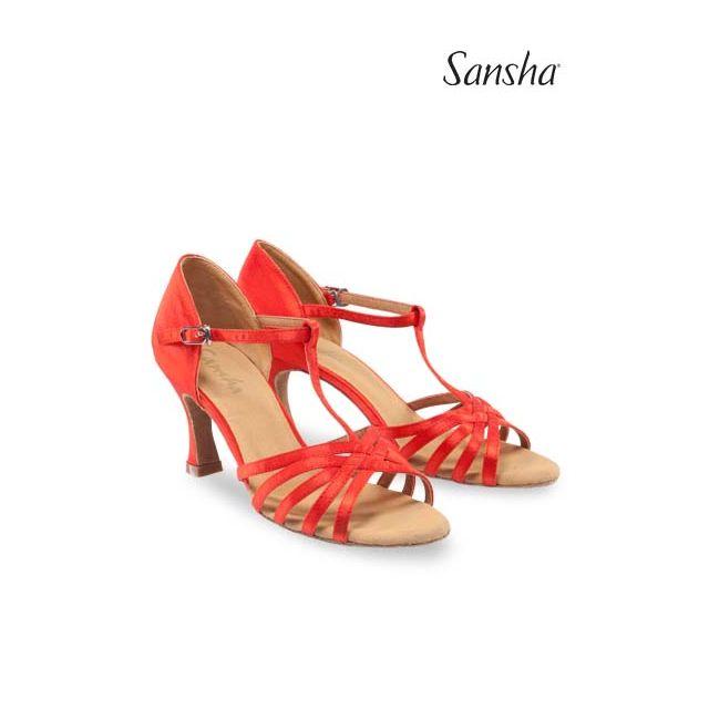 Zapatos de baile latino BR31028S JUANITA