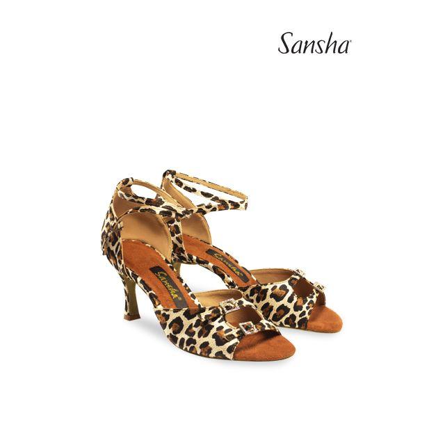 Zapatos de baile latino BR30033S MILANA