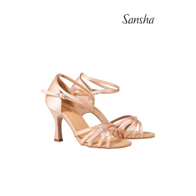 Zapatos de baile latino BR33050S ADRIANA