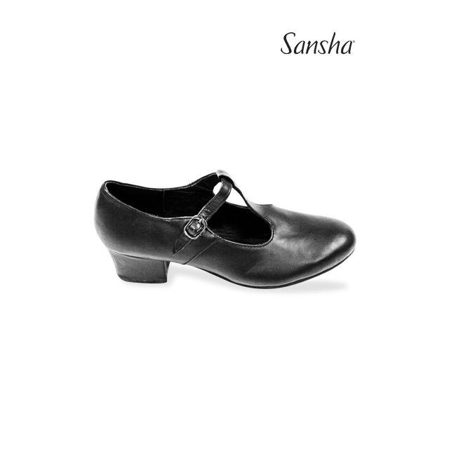 Zapatos de carácter T-bar CL06 DANUBE