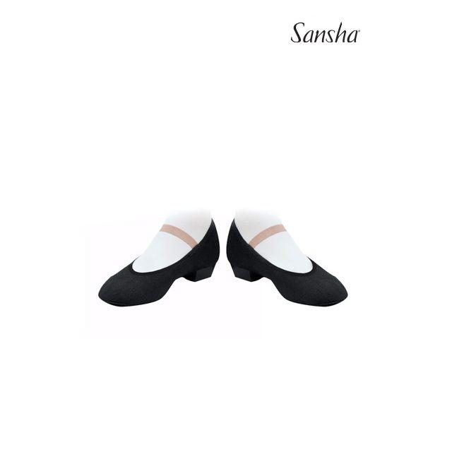 Zapatos de carácter con elástica ajustada CS1C MAZURKA