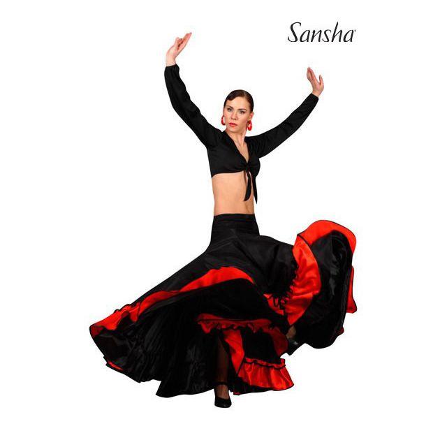 Falda de flamenco D0911P ADORA