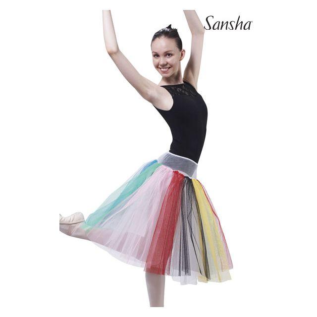 Falda de tutú multicolor DF0802 TACOMA