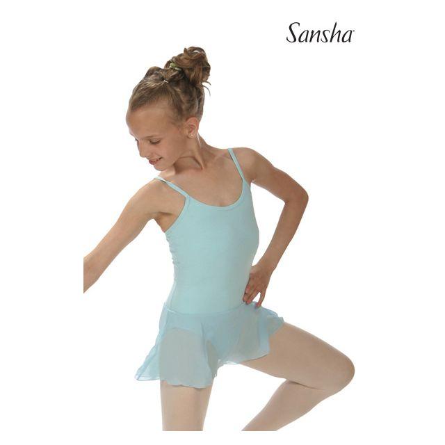 Maillot de camisola con falda para niños E507C TIARA