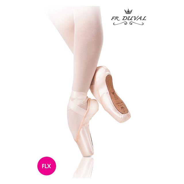 Puntas profesionales de ballet FR DUVAL FLEX-2