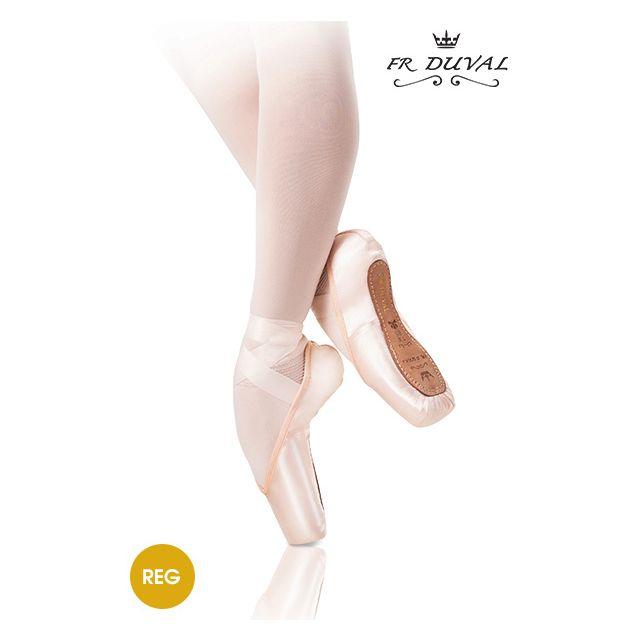 Puntas profesionales de ballet FR DUVAL REG