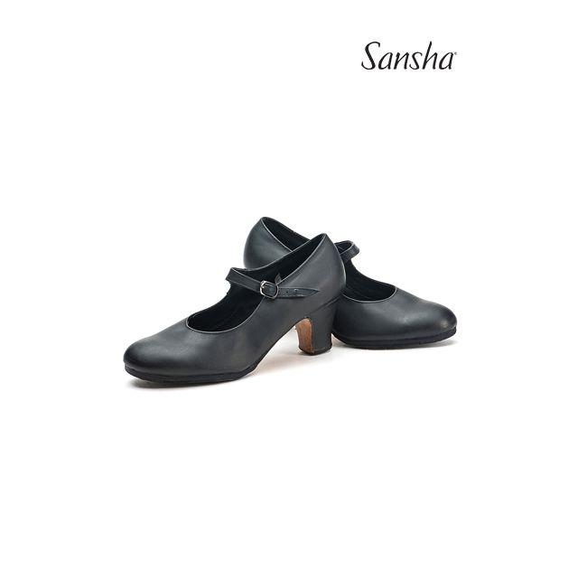 Zapatos de flamenco de piel FL1co SEVILLA