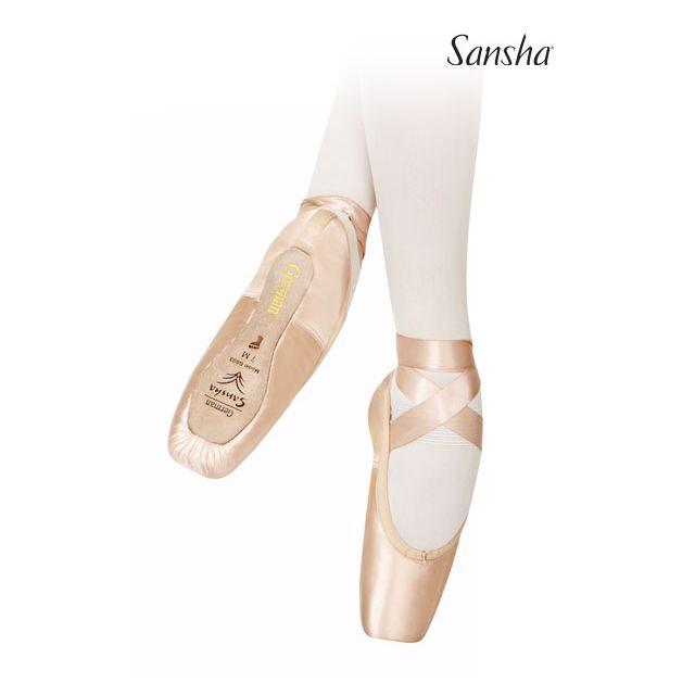 Puntas de ballet suela 3/4 G03S GERMAN 3