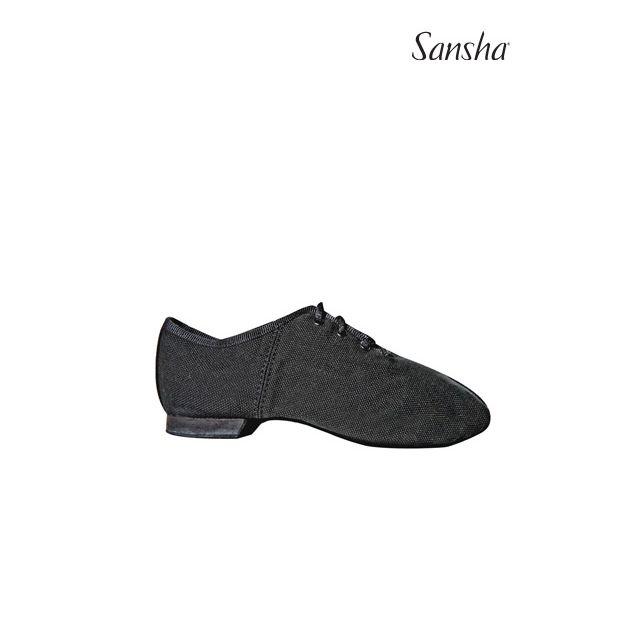 Zapatos de jazz con cordones para niños JS18C CARROUSEL