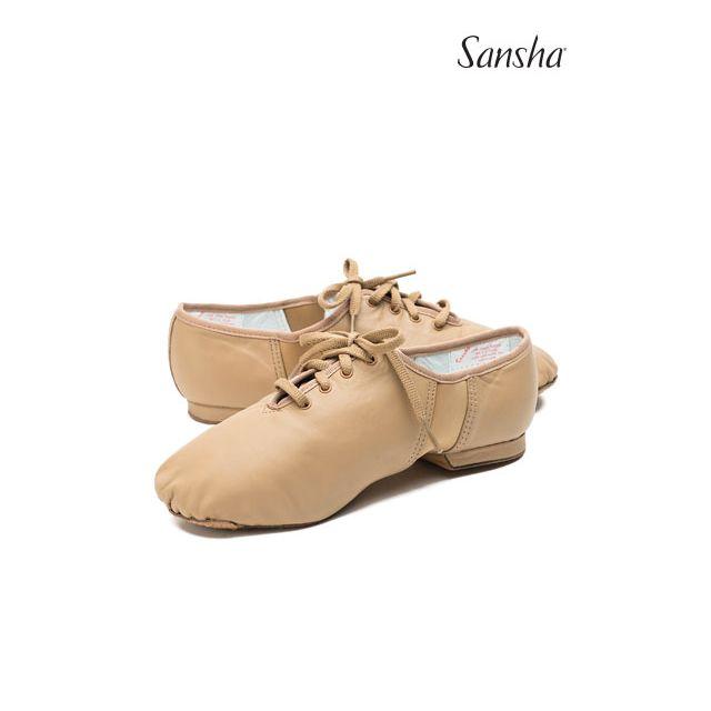 Zapatos de jazz de piel con cordones JS1Lco TIVOLI