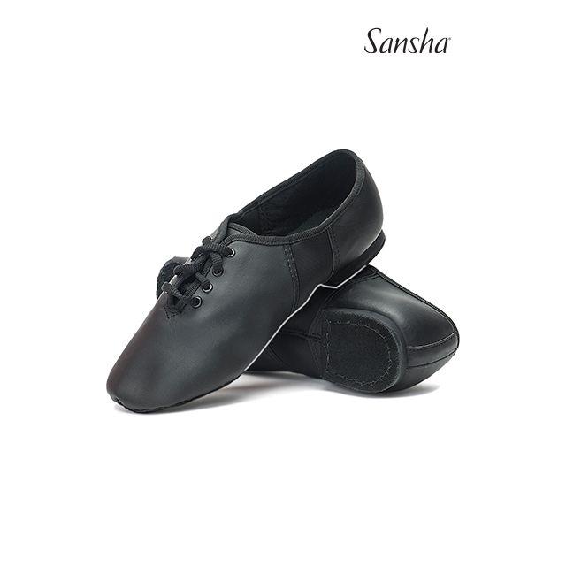Zapatos de jazz de piel con cordones JS2Lpi TIVOLI