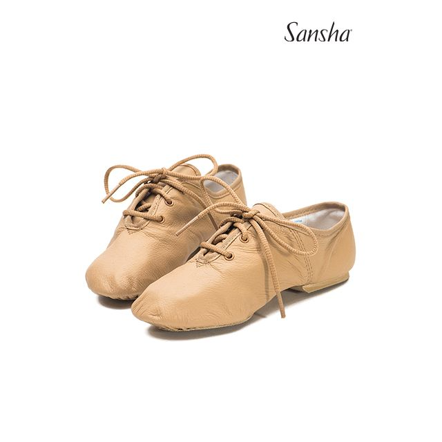 Zapatos de jazz de piel para niños JS85Lpi SWING-SPLIT