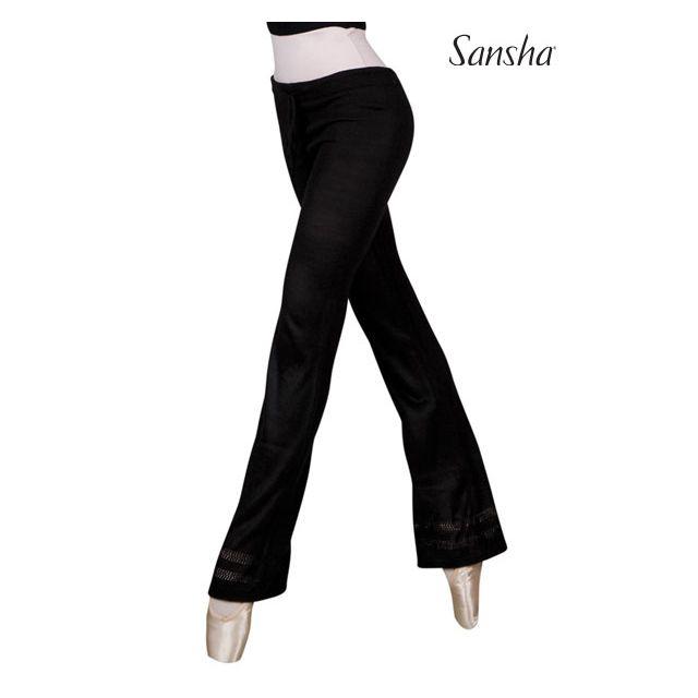 Pantalones de punto KT0143A KAROLINA