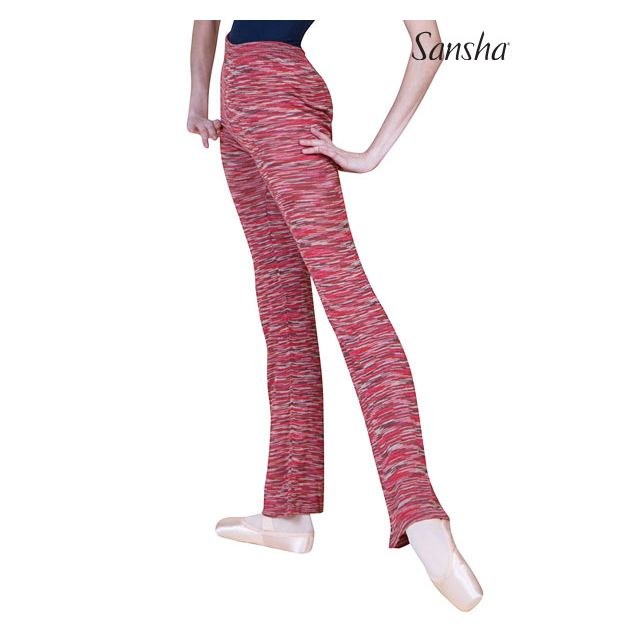 Pantalones con pierna ancha KT0144 MALINE
