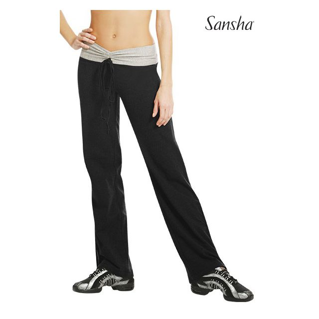 Pantalones bicolor L0123C LEONA