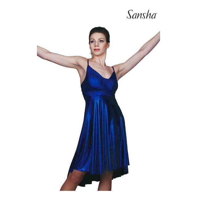 Vestido de camisola de baile latino L1708P DIAMANDA