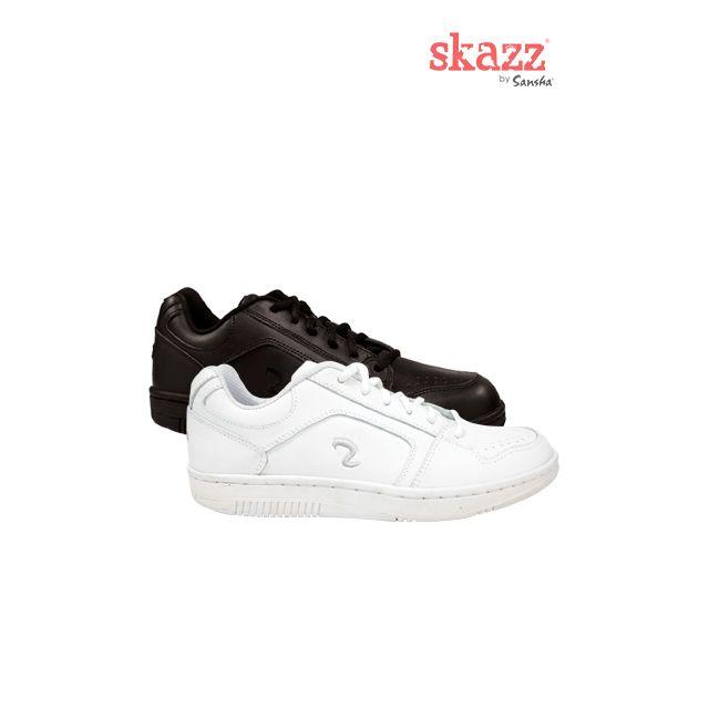 Sneakers de danza de piel N02L NIKO