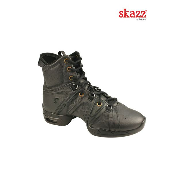 Sneakers altas de danza de piel P92Lpi VORTEX