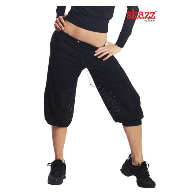 Pantalones anchos medio largos SK0405