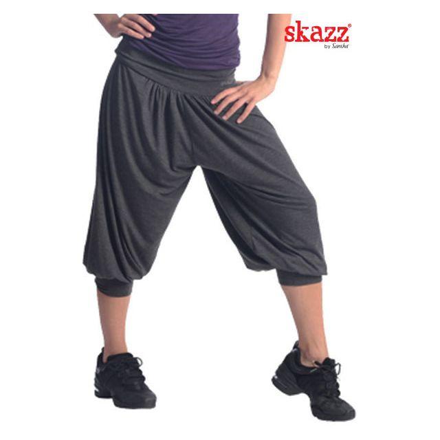 Pantalones harem medio largos SK0411
