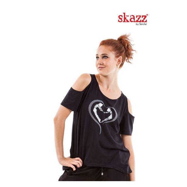 Camisa de hombro abierto SK1626V