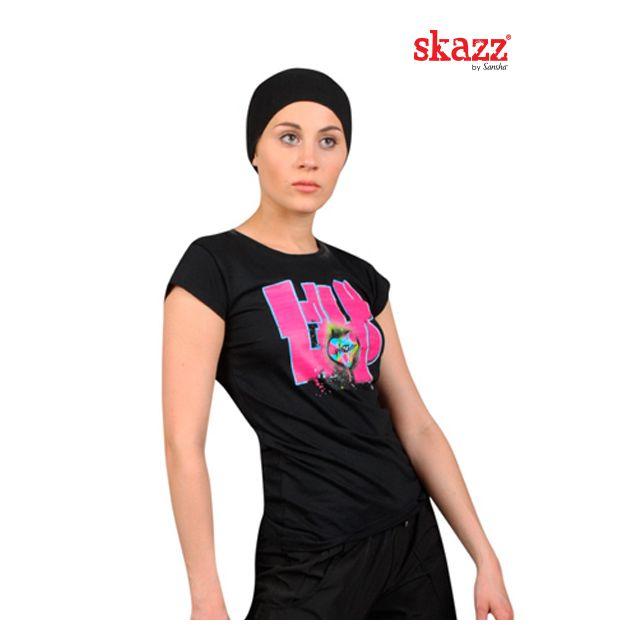 "Camiseta estampada ""Hip Hop"" SK3017"