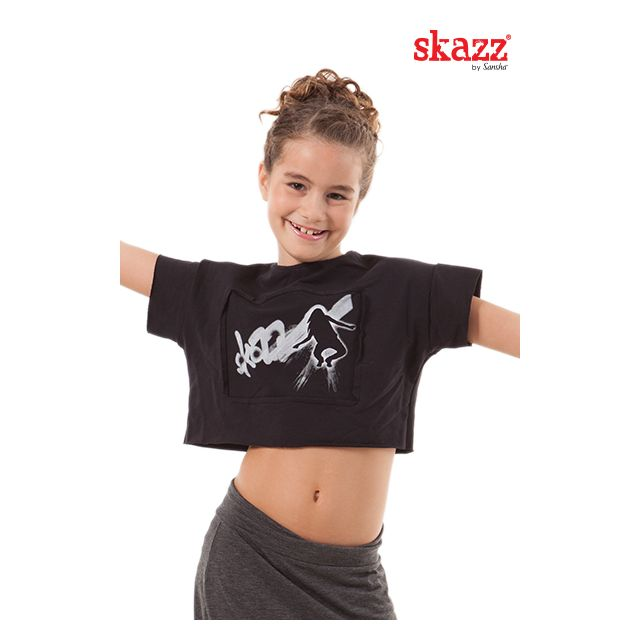 Camiseta de baile SKY3039C