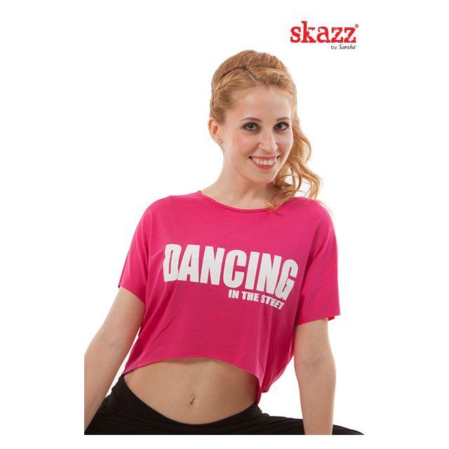 Top corto de camiseta para hip hop SK3042V