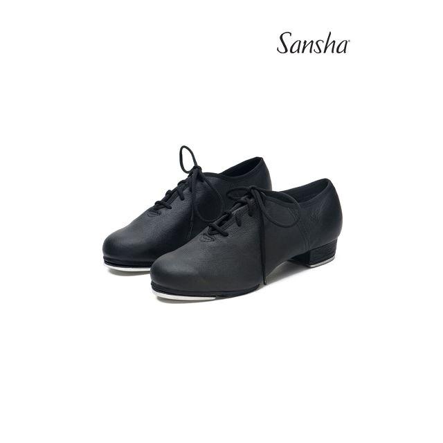 Zapatos de claqué de piel TA01Lco T-SPLIT