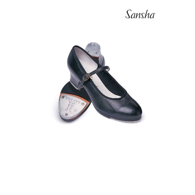 Zapatos de claqué de piel TA05Lpi T-MORAVIA