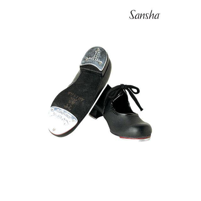 Zapatos de claqué de piel para niños TA21L TEE-KIDS